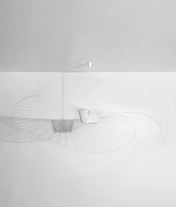 Vertigo Pendant Light White < L > / Petite Friture