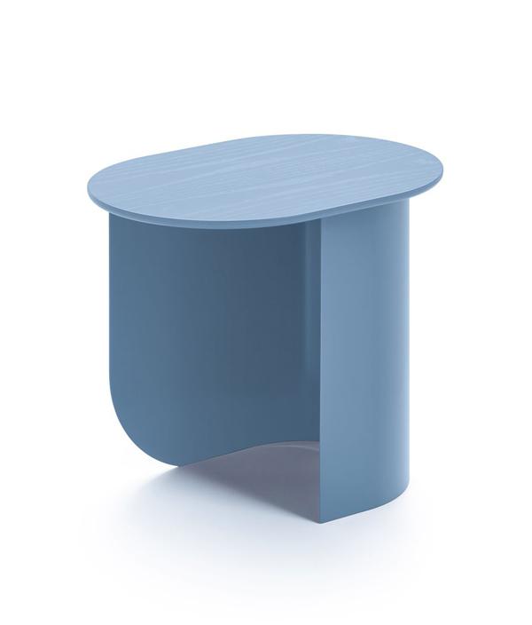 PLATEAU SIDE TABLE/PIGEON BLUE