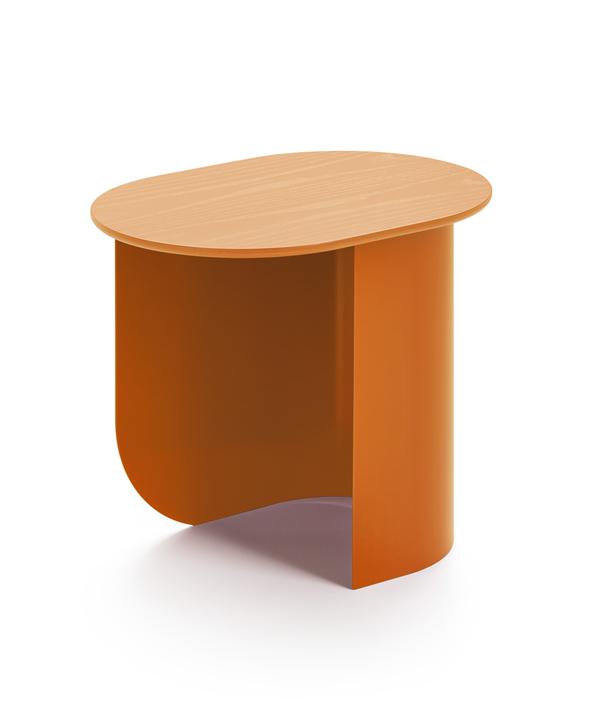 PLATEAU SIDE TABLE/CARAMEL