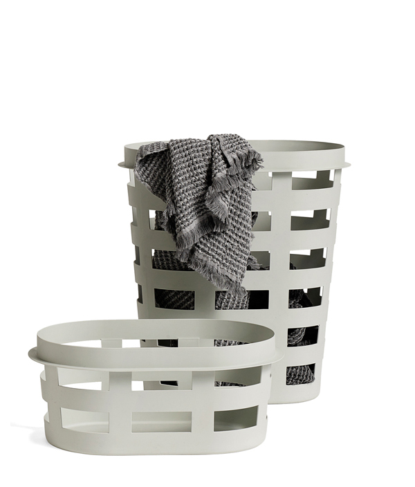 LAUNDRY BASKET <S> / LIGHT GREY