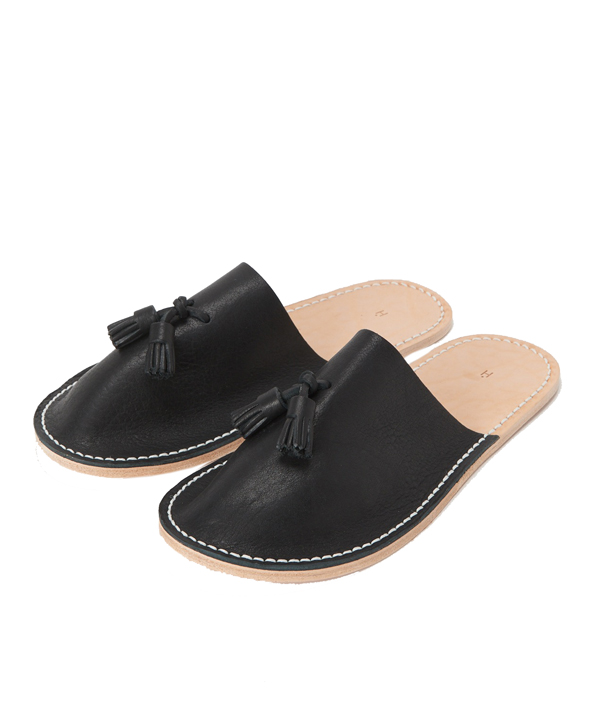Leather slipper/Black <M> / Hender Scheme(エンダースキーマ)