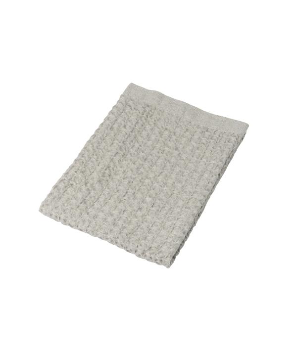 Heather Waffle Towel / M / I.Grey