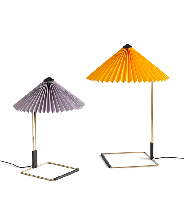 MATIN TABLE LAMP <L> / Bright Yellow