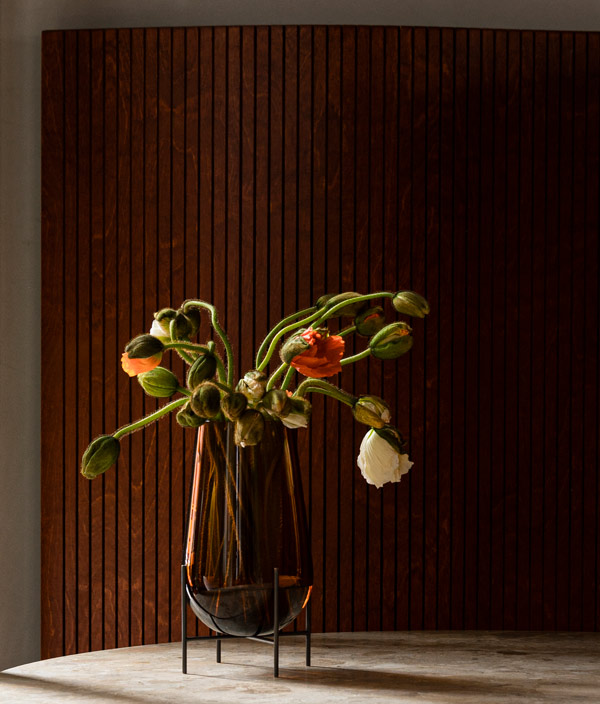 Echasse Vase S <Amber> / MENU(メニュー)