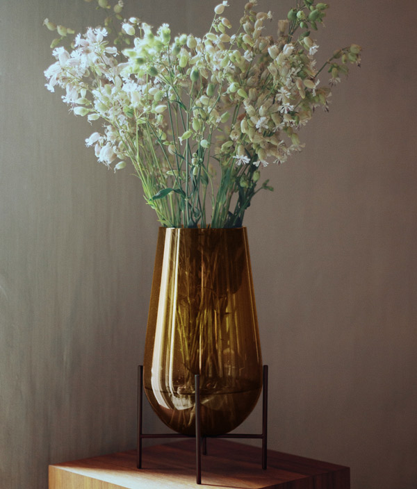 Echasse Vase M <Amber> / MENU(メニュー)