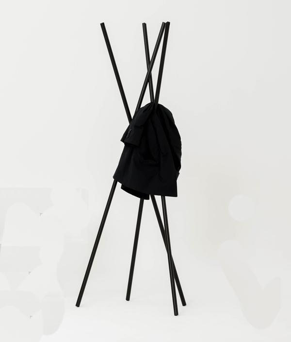 Hash Coatrack Black