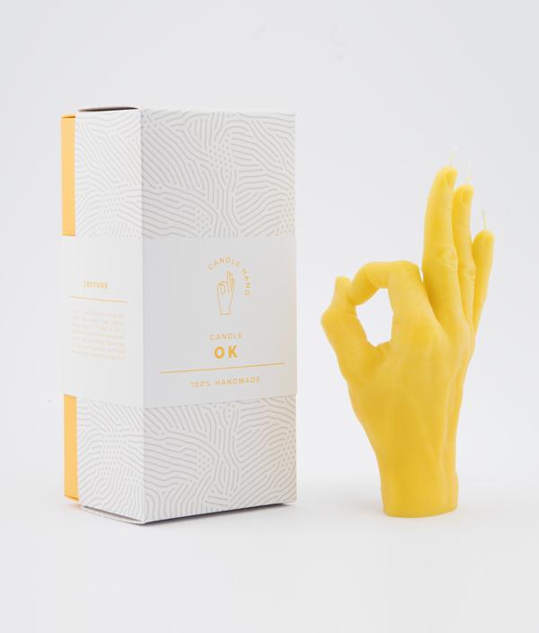 CANDLE HAND OK <Yellow>