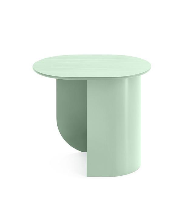 PLATEAU SIDE TABLE / MINT GREEN