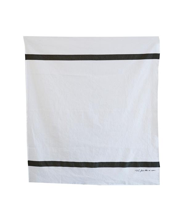 US NAVY Blanket <BLK>/ loomer  ( ルーマー)