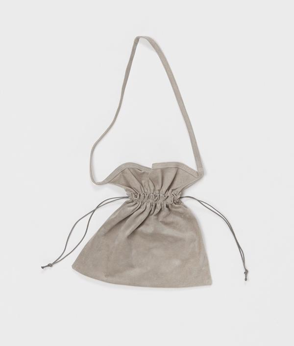 Red cross bag small <L.GREY> / Hender Scheme(エンダースキーマ)