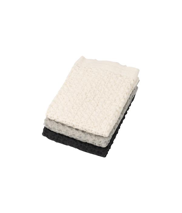 Heather Waffle Towel /Grey<S>