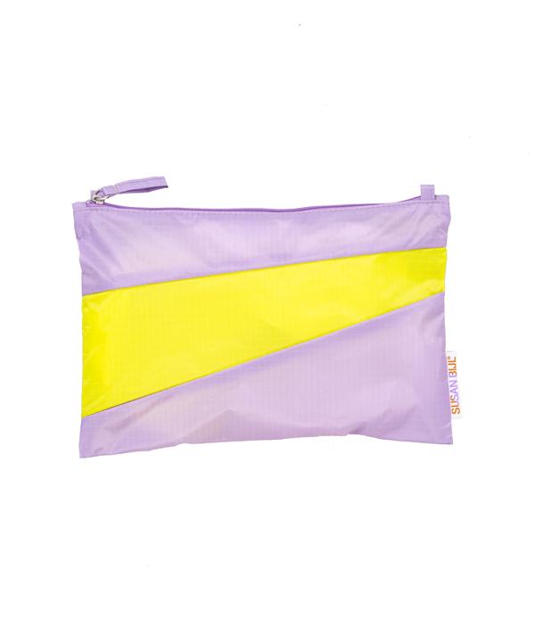 Pouch M /Idea & Fluo Yellow /SUSAN BIJL