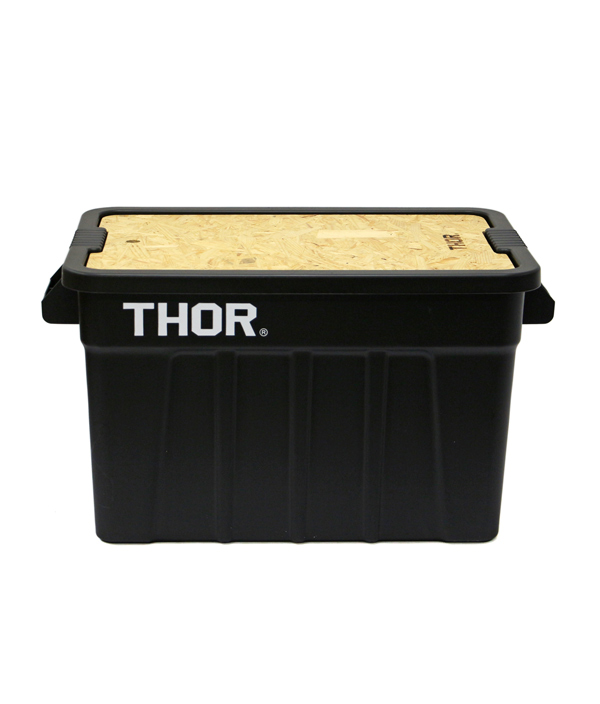 THOR Large Totes With Lid 53L /Black