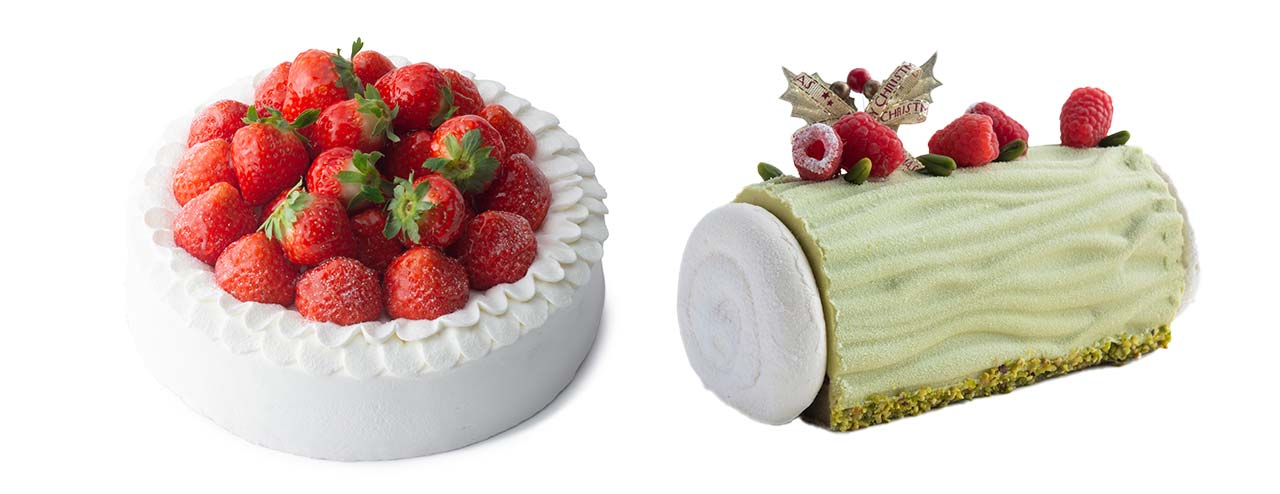 画像:HOLIDAY CAKE