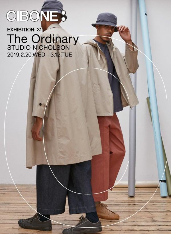 NEW EXHIBITION: 31 The Ordinary STUDIO NICHOLSON