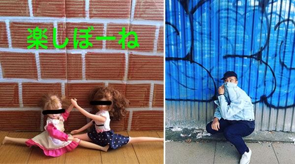 加賀美 健と一緒にCIBONEのガラスに落書きしちゃおう!わくわくキッズグラフィティー教室 みんなで楽しぼーね