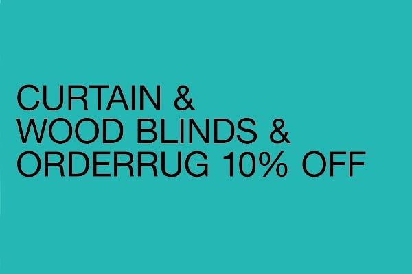 カーテン / ウッドブラインド / オーダーラグ 10%OFFフェア