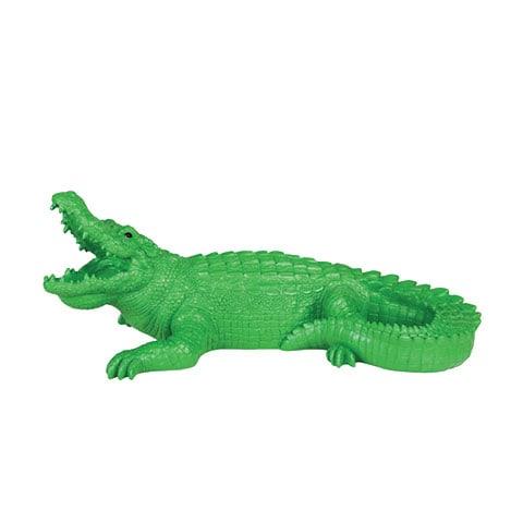 Coinbank crocodile green