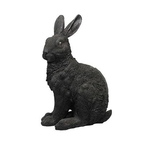 Coinbank rabbit black