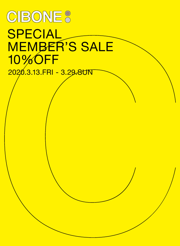 SPECIAL MEMBER'S SALE