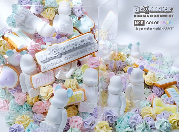 BE@RBRICK AROMA ORNAMENT No.0 COLOR SWEET