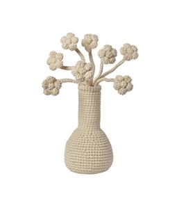 big flower flat cotton