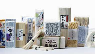 日本各地の「素麺」を味わう