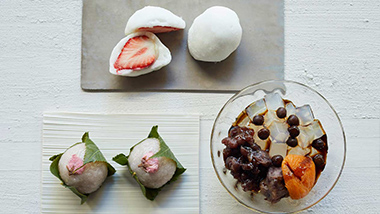 [週末限定]春を味わう和菓子