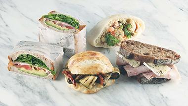 サンドイッチが新しく生まれ変わりました