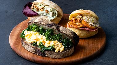 AUTUMN SANDWICHES 初秋におすすめのサンドイッチ