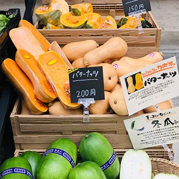 【EVENT】10月のお野菜マルシェ|国立店