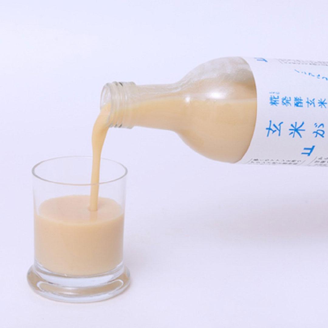 山燕庵 玄米甘酒の試飲販売