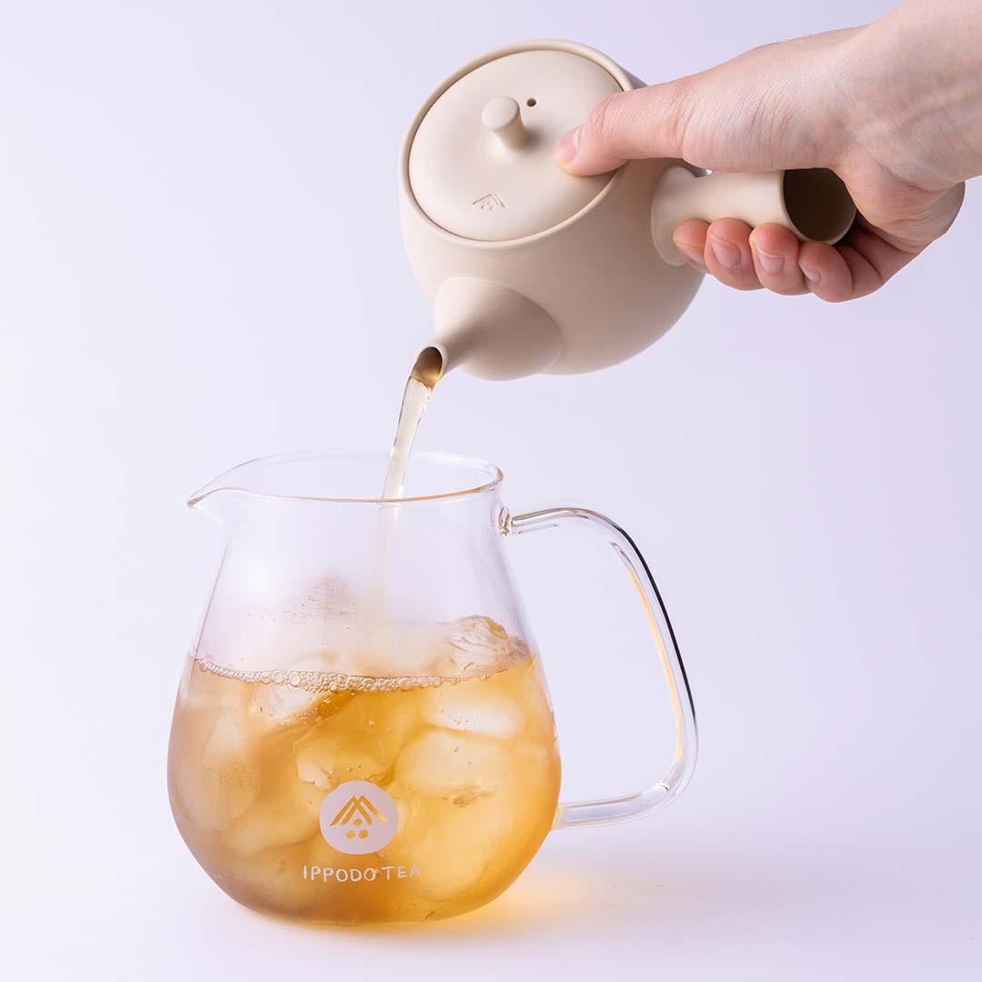 一保堂茶舗 冷茶の試飲販売