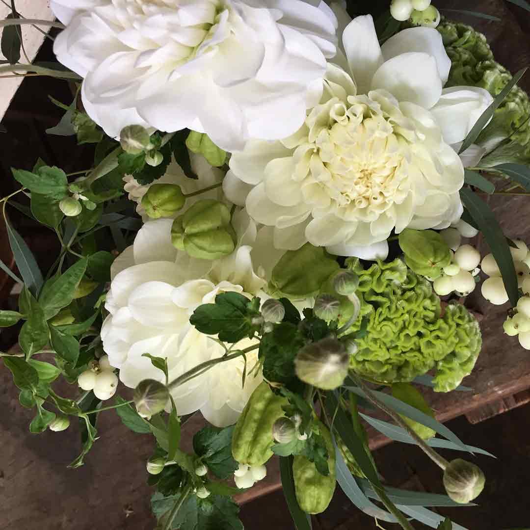 FLOWER griotte 初秋のアレンジメント