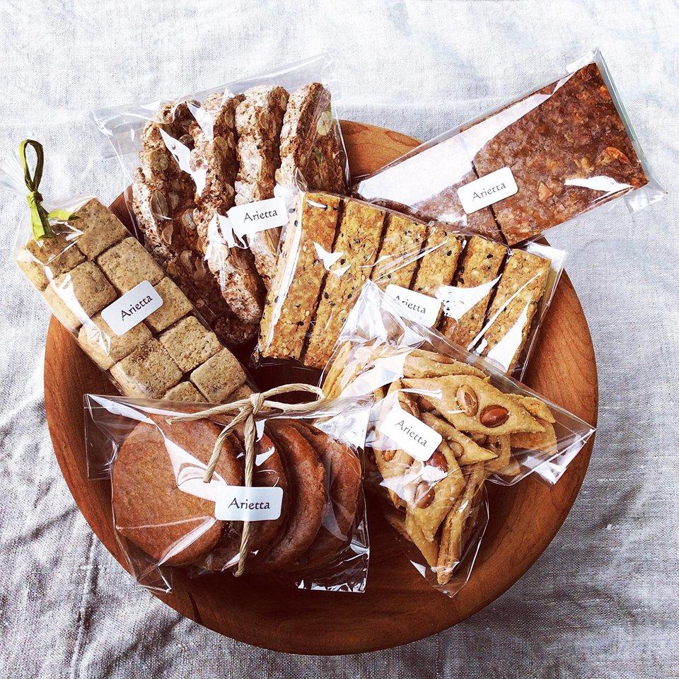 菓子工房 Arietta 焼き菓子の販売