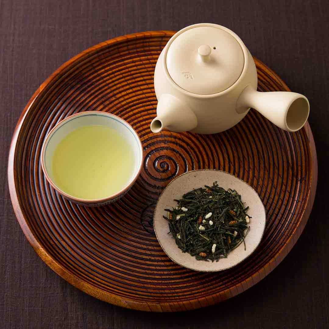 京都一保堂茶舗 大福茶の試飲販売