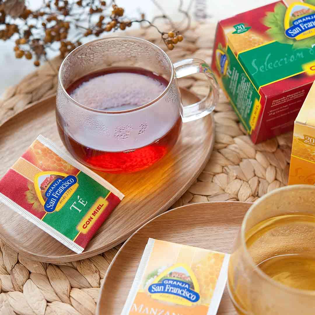 グランジャポン はちみつ紅茶とオリーブパテの試食販売