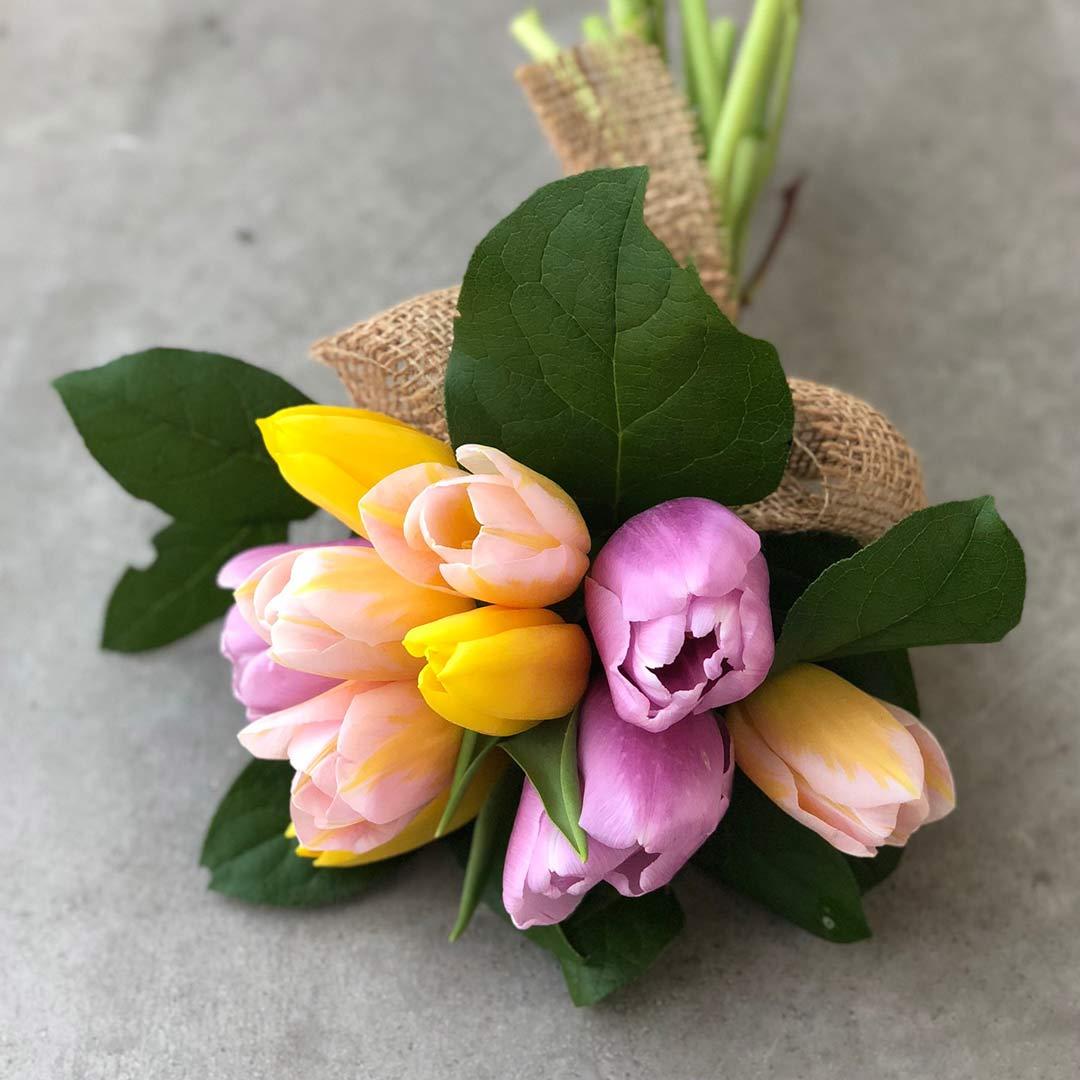山本文さん 季節のお花のブーケづくりワークショップ