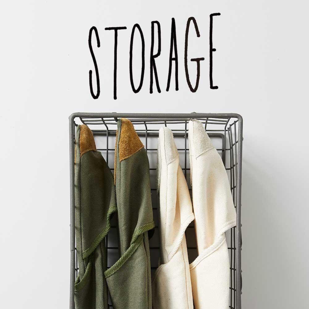 【ONLINE STORE】STORAGE 暮らしを整える収納アイテム