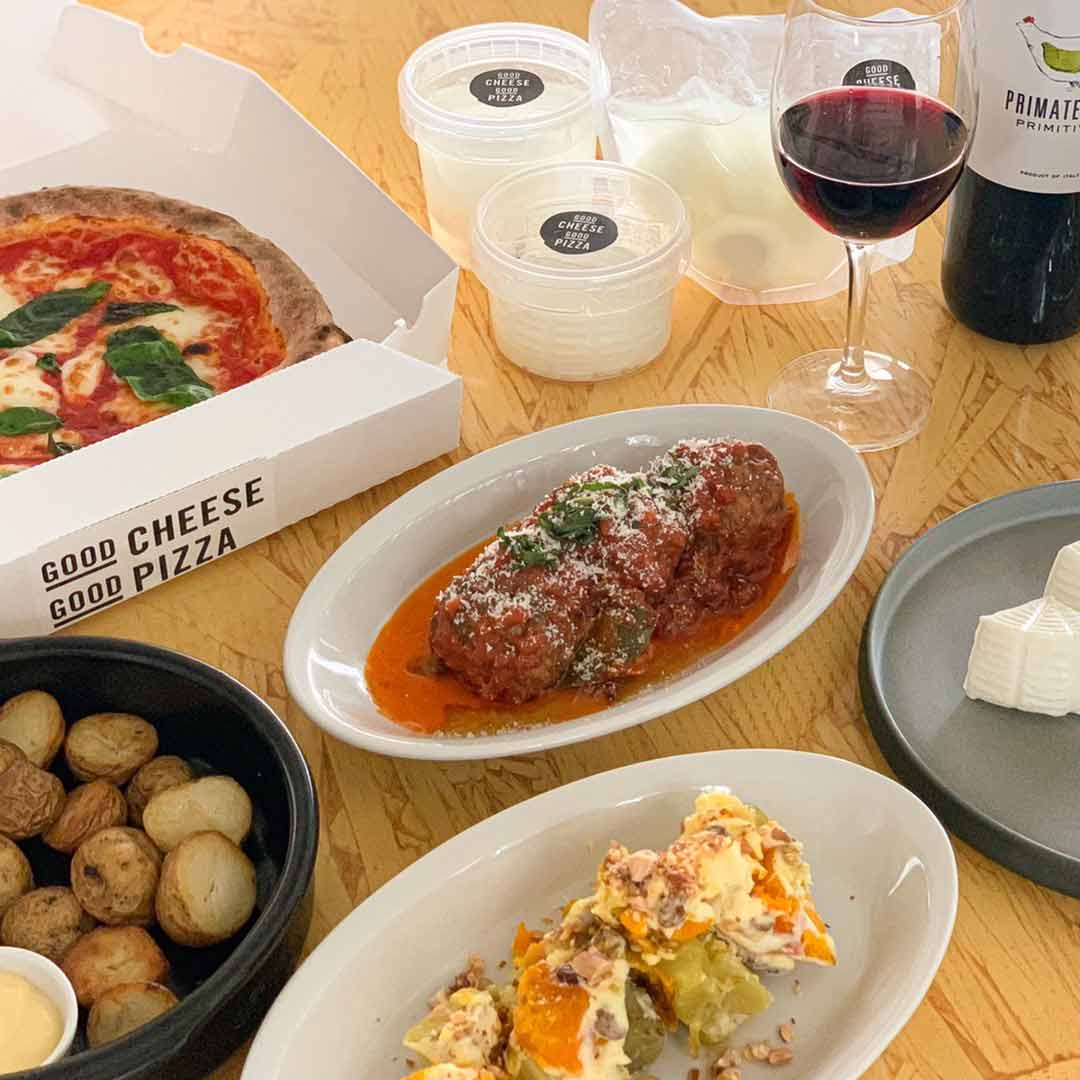 【INFO】GOOD CHEESE GOOD PIZZAのTAKE OUT MENU
