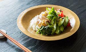 夏の麺 あの人のおいしい食べ方 -藤原奈緒さん