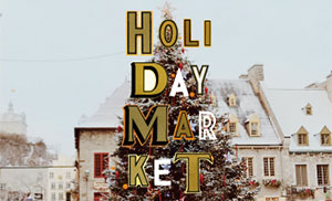 HOLIDAY MARKET TAKE JOY