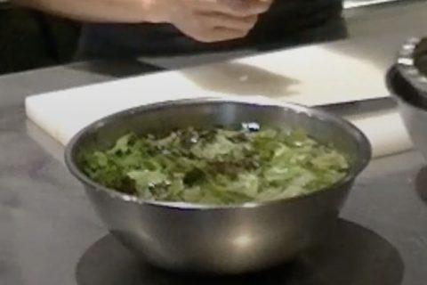 Vol.3  水菜とサニーレタスのサラダ