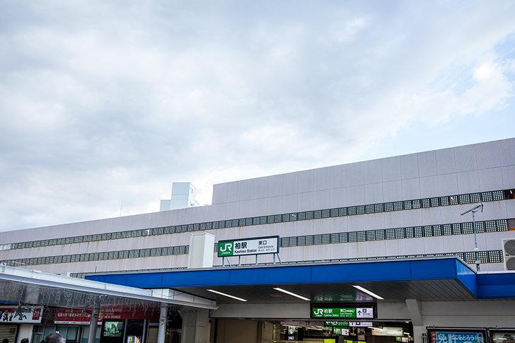 JR柏駅中央改札 朝市