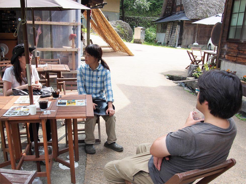 由宇さんも手伝うお茶屋で移住のホンネをお聞きします!