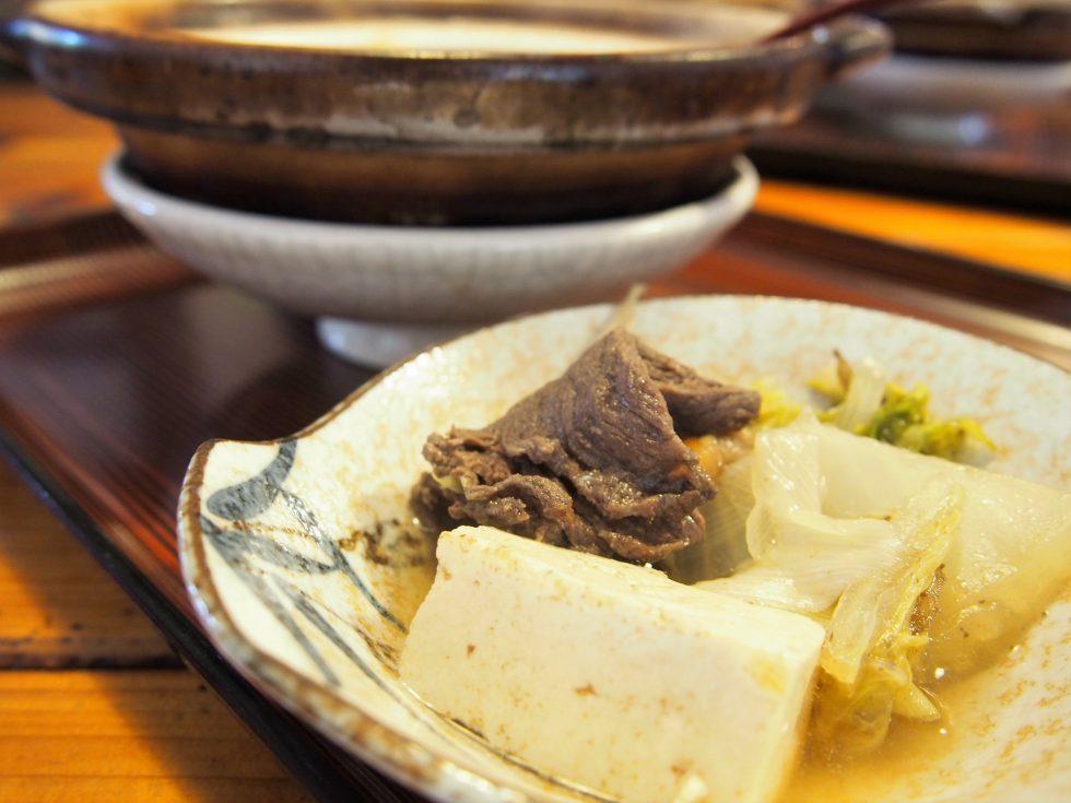 五箇山名物の「五箇山豆腐」も美味