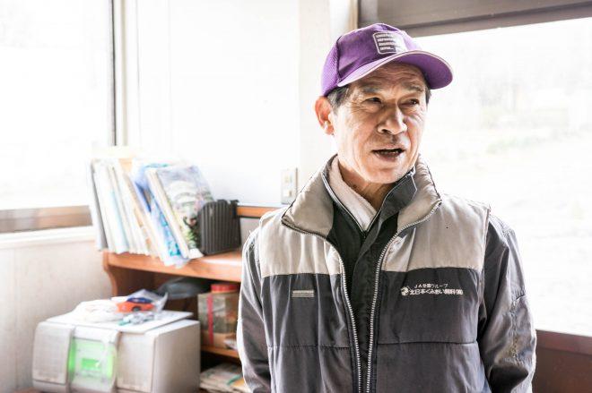 酪農家の経営者として活動なされている松本さん。一代で酪農場を築いた人で、創業者である。