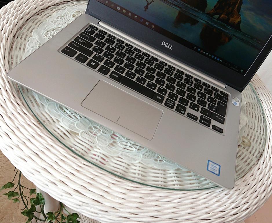 普段の仕事に使用しているノートパソコン