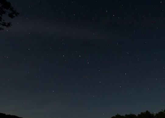 夜の星空 ※イメージ