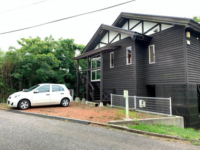 寶満さんが滞在したダイワハウスの森林住宅「家族コテージノトイエ」